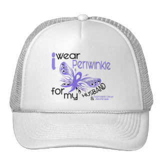 Esophageal Cancer I WEAR PERIWINKLE FOR MY HUSBAND Cap