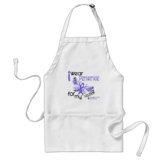 Esophageal Cancer I WEAR PERIWINKLE FOR MY SISTER Standard Apron