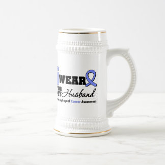 Esophageal Cancer Periwinkle Ribbon For My Husband Coffee Mug