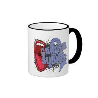 Esophageal Cancer Sucks Scream It Coffee Mugs