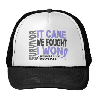 Esophageal Cancer Survivor It Came We Fought I Won Cap