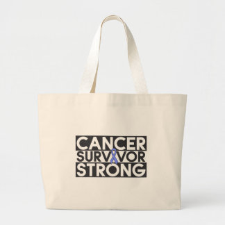 Esophageal Cancer Survivor Strong Canvas Bags