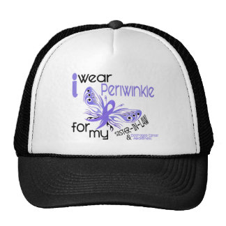 Esophageal CancerPERIWINKLE FOR MY SISTER-IN-LAW Cap
