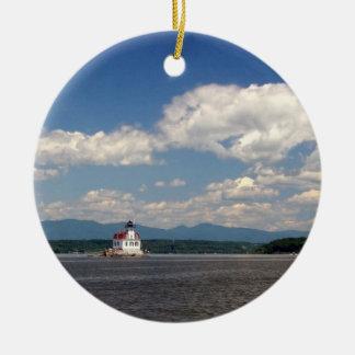 Esopus Lighthouse Christmas Ornament
