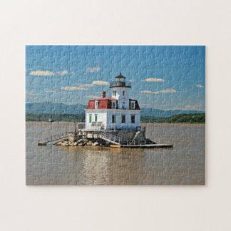 Esopus Meadows Lighthouse, New York Jigsaw Puzzle