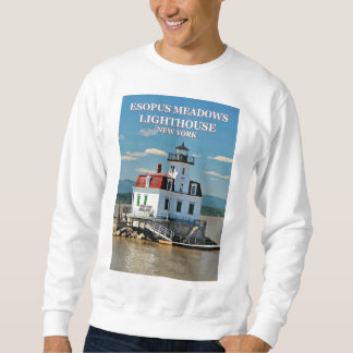 Esopus Meadows Lighthouse, New York Sweatshirt