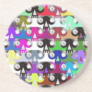 Esoteric Skull (Colour) Coaster