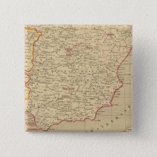 Espagne et Portugal 1640 a 1840 15 Cm Square Badge