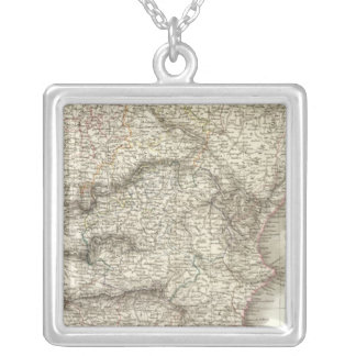 Espagne, Portugal Silver Plated Necklace