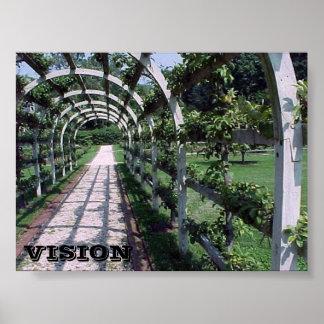 Espalier Apple Tree - Vision Print
