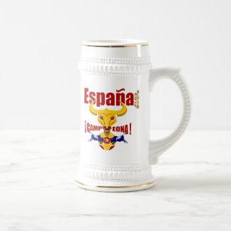 España 2012 Campeona Jarro de Cerveza Spain Bull Beer Steins