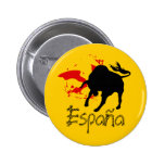 Espana 6 Cm Round Badge