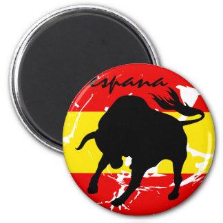 Espana 6 Cm Round Magnet
