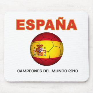 España Campeón del Mundo 2010 Mousepads