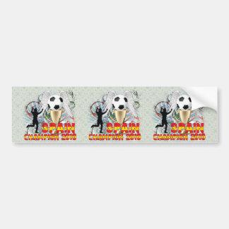 España Campeón Del Mundo Bumper Stickers