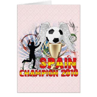 España Campeón Del Mundo Cards