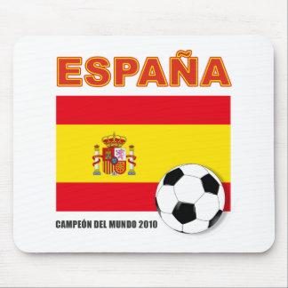 España Campeón del Mundo Mouse Pads