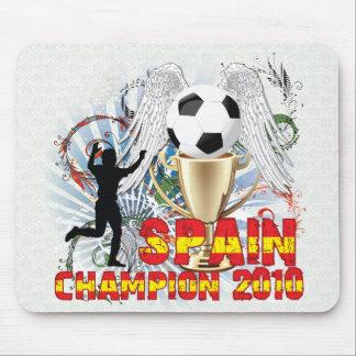 España Campeón Del Mundo Mousepads