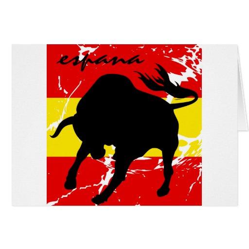 Espana Greeting Card