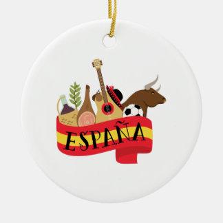 Espana Christmas Ornament