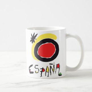España (Spain) Miro Logo Mug