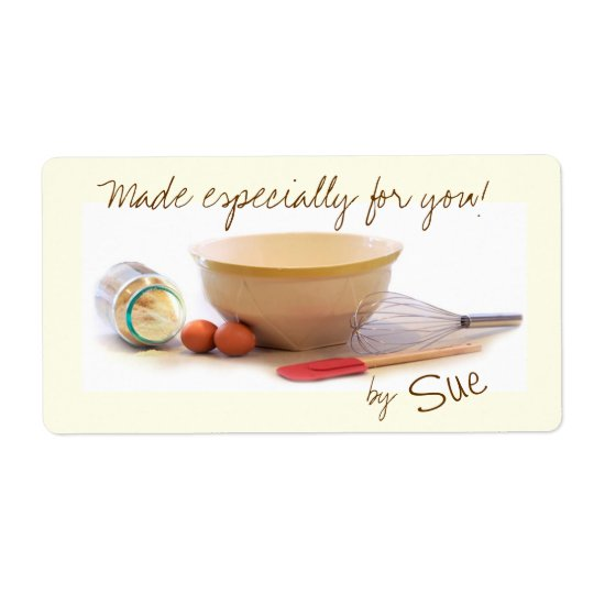 Especially for You Gift Labels from Your Kitchen