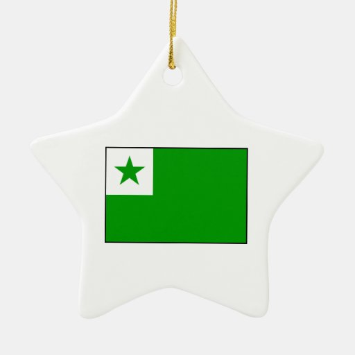 Esperanto – Esperantist Flag Ornament