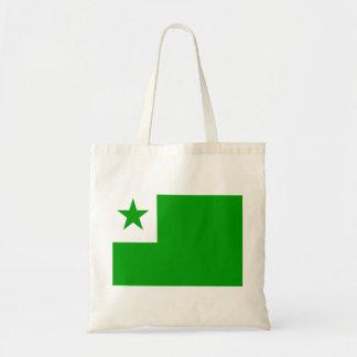 Esperanto Flag Tote Bag
