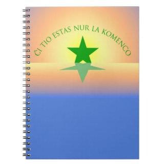 Esperanto: Just the Beginning Notebook