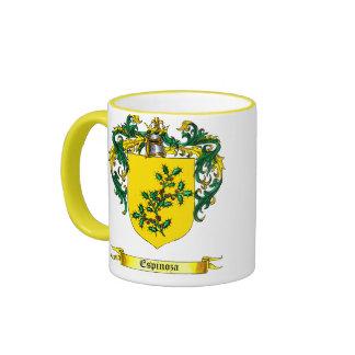 Espinosa Shield of Arms Coffee Mugs