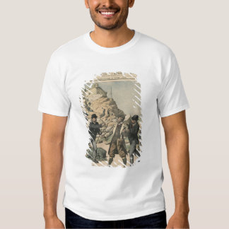 Espionage in France Arrest of an English colonel Tee Shirt