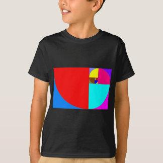 espiral fibonacci T-Shirt