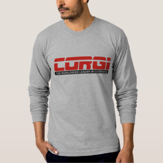 ESPN Corgi Mens Fitted Longsleeve T-shirt