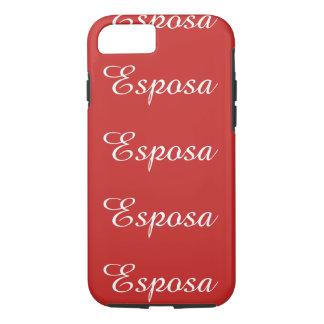 Esposa (Wife) iPhone 8/7 Case