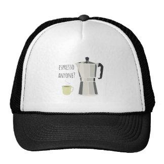 Espresso Anyone Hats
