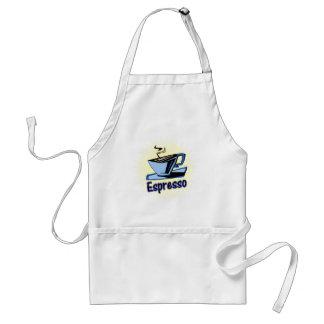 espresso burst standard apron