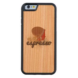espresso carved cherry iPhone 6 bumper case