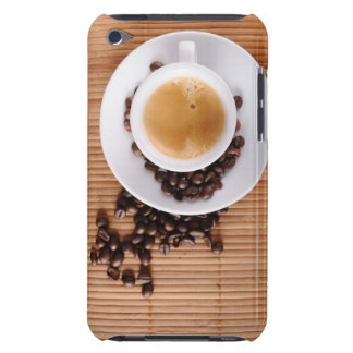 Espresso cup on a mat iPod touch cover
