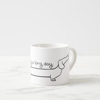 Espresso Dachshund Mug