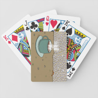 Espresso Hill Bicycle Playing Cards