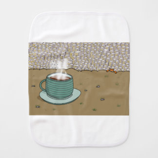 Espresso Hill Burp Cloth