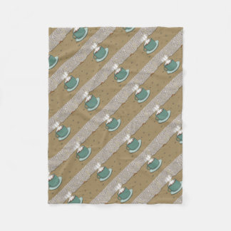 Espresso Hill Fleece Blanket