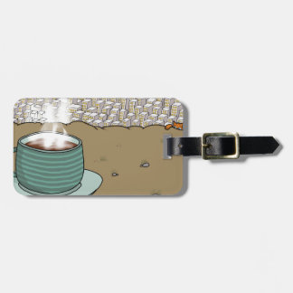 Espresso Hill Luggage Tag