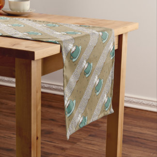 Espresso Hill Short Table Runner