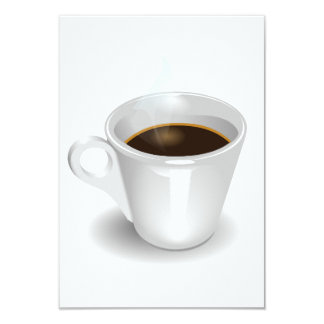 "Espresso Invitations 3.5"" X 5"" Invitation Card"