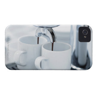 Espresso machine making coffee iPhone 4 covers
