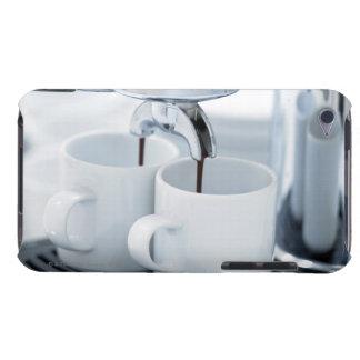 Espresso machine making coffee iPod Case-Mate case