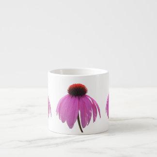 Espresso Mug - Purple Coneflower - Echinacea 6 Oz Ceramic Espresso Cup