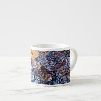 Espresso Mug; Tree Bark Design Espresso Mug
