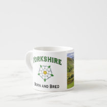 Espresso Mug - Yorkshire Born and Bred